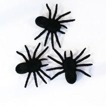Halloween Décor - Spiders ( Set of 4 )