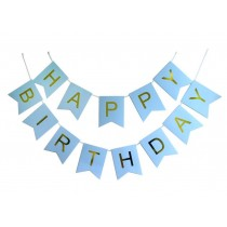 Bunting - Happy Birthday ( Assorted Colors )