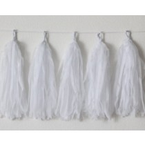 White Decorative Tassel