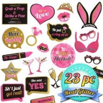 Photo Stick Set - Bachelorette  ( Set of 20 )