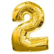 2 - Gold Foil Balloon 40 Inches
