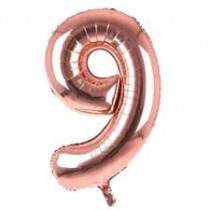 9 - Rose Gold Foil Balloon 40 Inches