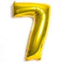 7 - Gold Foil Balloon 40 Inches