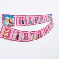 Frozen theme Birthday Bunting