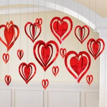 Heart Decoration Kit for Anniversary or Velntines Day