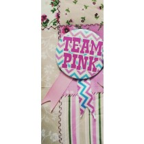 Team Pink  Badge