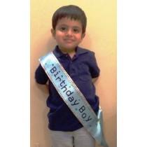 Birthday Boy Baby Sashe