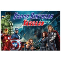 Avengers Personalized Banner