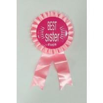 Best Sister Ever Badge