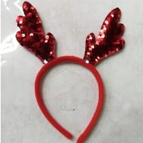 Reindeer Glitter Headband