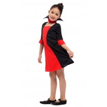 Vampire Dracula Girl Halloween Costume ( 3-5 years size M )