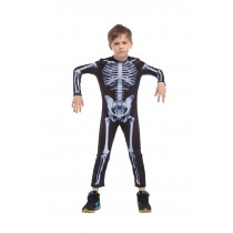 Skeleton Halloween Costume  ( 3 - 5 years Size M )