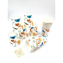 Jungle Plates, Cups and Tissue set ( Set of 10 )