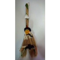 Witch Broom Decoration