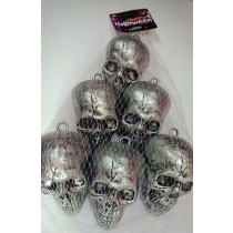 Skull Head (Set of 6 )