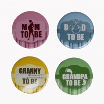 Family Badge Set of 4