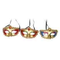 Half mask with Stone (Set of 3)