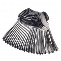 24 pc Spoon Set - Metallic