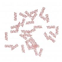 Baby Pink confetti