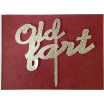 Old Fart Cake Topper