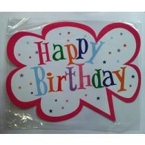 Happy Birthday Photo Booth Props