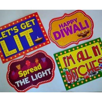 Diwali & Casino Photo Boards ( Set 2 )