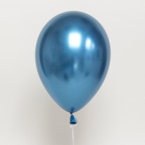 "Chrome Blue Qualtex 12""Latex Balloon ( Set Of 3 )"