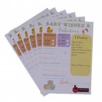 Baby Wishes Cards (Set of 6)