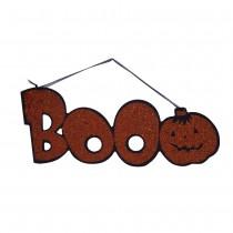 Halloween Hanging - BOO! Glitter