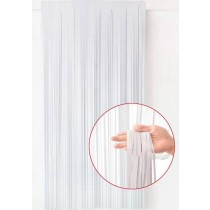 White Foil Curtain