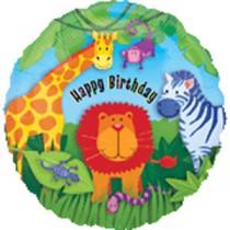 Jungle Foil Balloon 18''