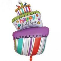 3 tier cake shape foil balloon 30''