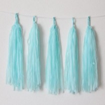 Blue Decorative Tassel