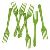 20 pc Fork Set - Green