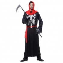 Skeleton Adult Male Halloween Costume