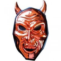 Scary Metal Mask - Devil Horned