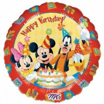 Disney Minni Mickey foil balloon 18''