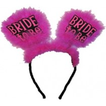 Hot Pink Bride to Be Headgear