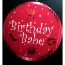 Birthday Babe Birthday Badge