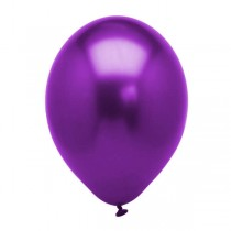 "Chrome Purple Qualtex 12"" latex Balloon( Set of 3 )"