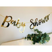 Baby Shower Foil Bunting