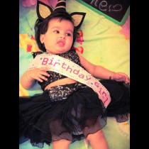 Birthday Girl Baby Sashe