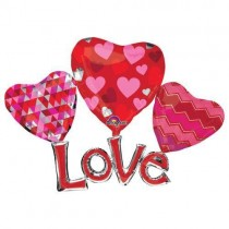 Love Multi Supershape   Foil Ballooon
